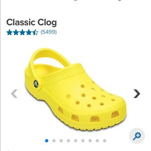 ISO THESE CROCS